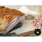 Pancetta de porc noir de Calabria