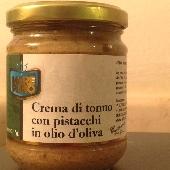 Cr�me de Thon et Pistaches dans l'huile d'olive