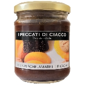 Crème Peach avec amaretti cacao- I Peccati Di Ciacco