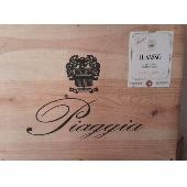 Piaggia- Il Sasso Carmignano DOCG 2007  boite 6 bouteilles