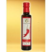 Huile d'olive vierge extra aromatis�e aux extraits naturels de chili - Oleificio Costa