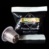 Caf� d�caf�in� capsules compatibles Piazza del Duomo - Barista Italiano
