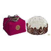 Panettone with fruit: berries - hand wrapped - Fiasconaro