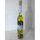 Condiment aromatisé à la truffe blanche et à l'huile d'olive extra vierge avec flocons de truffe. - Tartufi Dominici