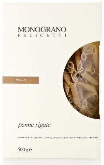 Penne rigate monograno al Farro - Pastificio Felicetti