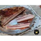 Guanciale de porc noir de Calabria