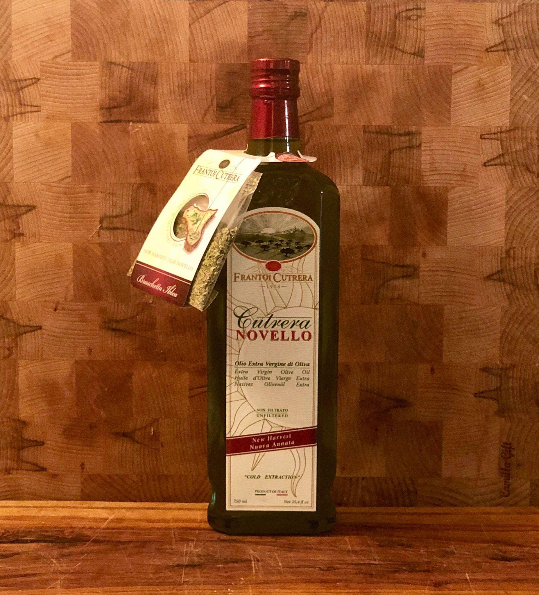 FRESCOLIO Cutrera  - huile extra vierge d'olive - Frais