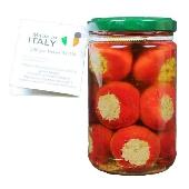 Peperoncini ripieno con tonno, capperi e olive - Calabria Sapori
