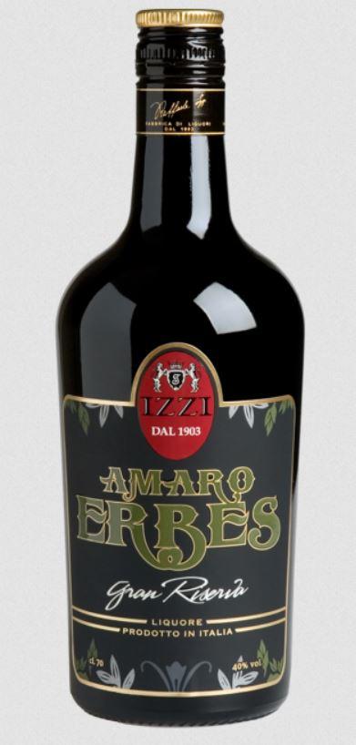Fabbrica di liquori Izzi - Amaro Erbes Gran Riserva