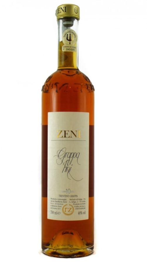 Zeni - Grappa di Vinacce di Teroldego 10 Pini