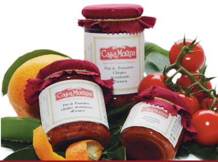 P�t� de tomate cerise saveur d'orange Casa Morana