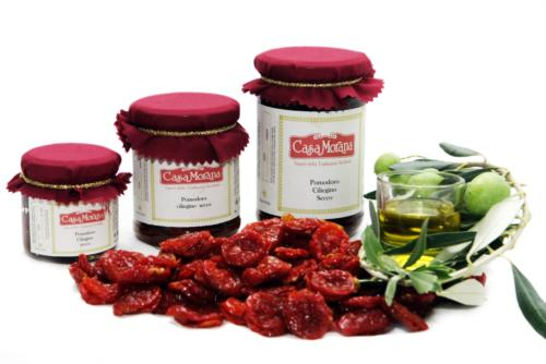 Tomate Cerise S�ch�e Dans de l'Huile d'Olive Casa Morana