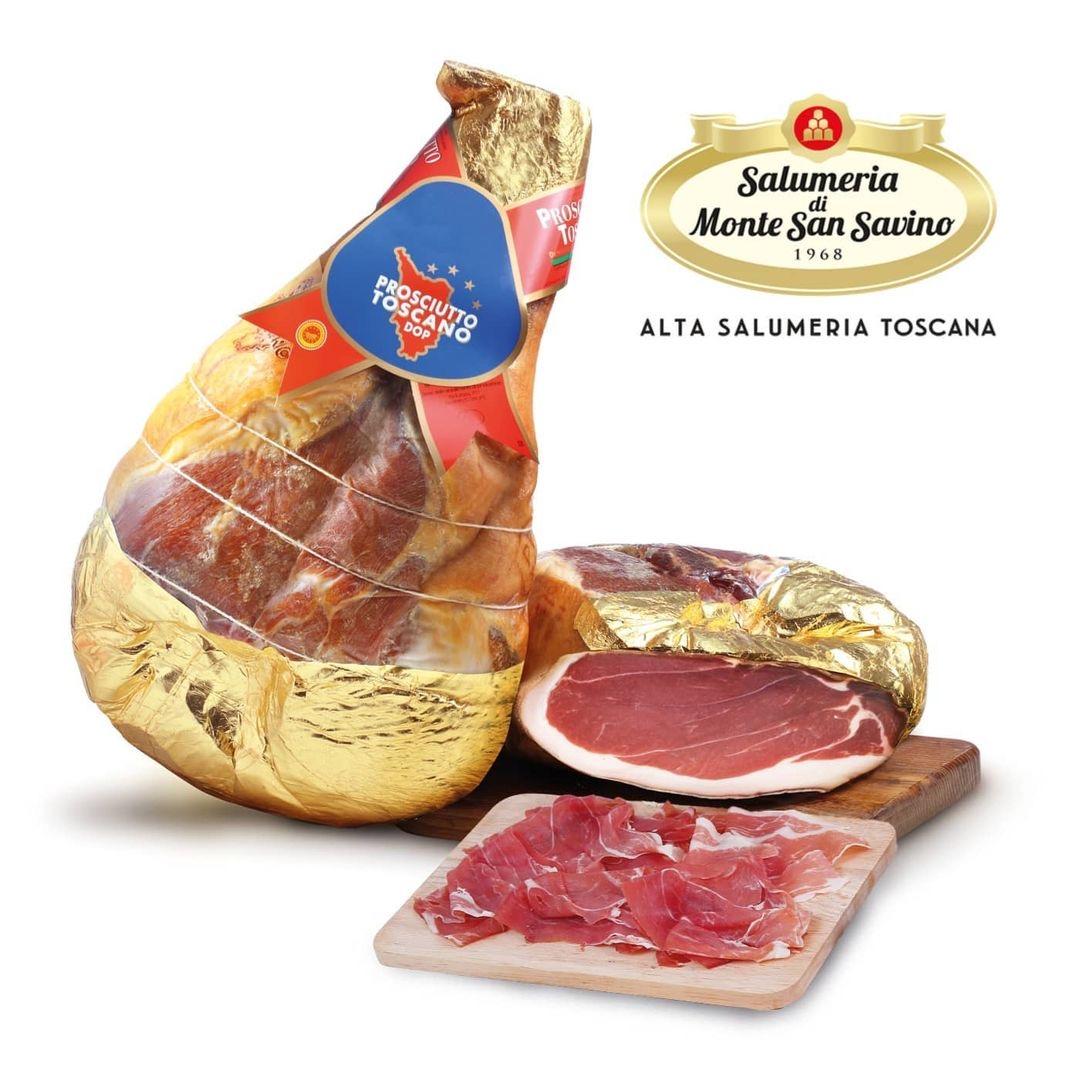 Salumeria di Monte San Savino - (Jambon Toscan) Prosciutto Toscano DOP addobbo SV