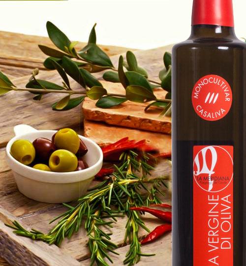 LA MERIDIANA -  Huile d'olive extra vierge a Puegnago del Garda Casaliva Monocultuivar