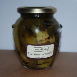 Courgettes r�ties dans l'huile d'olive - Arconatura