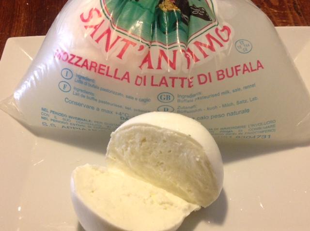 Bocconcini di mozzarella di latte di bufala