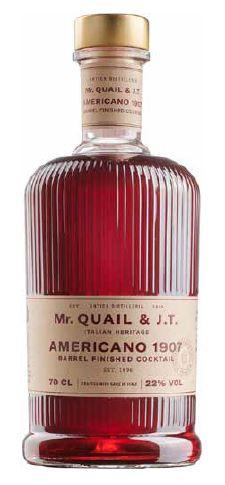 Mr. Quail & J.T. - Cocktail Americano 1907
