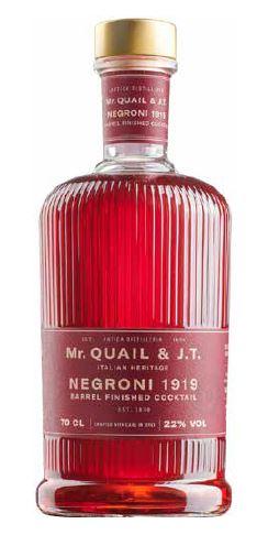 Mr. Quail & J.T. - Negroni 1919