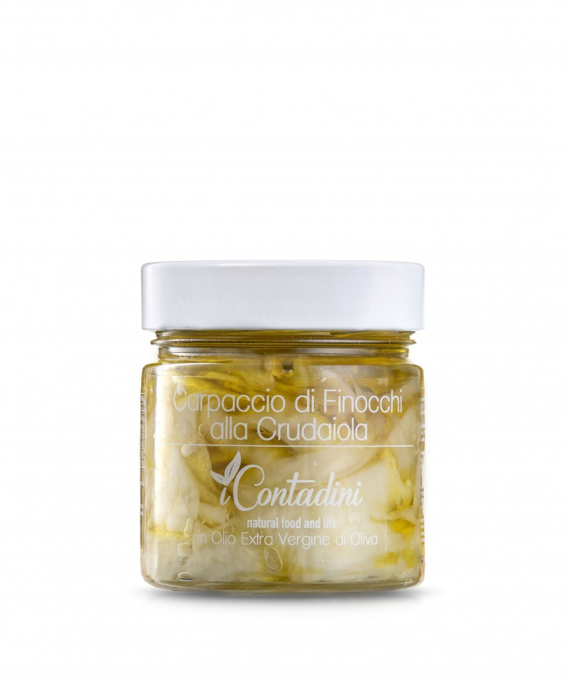 iContadini - Carpaccio de fenouil Crudaiola