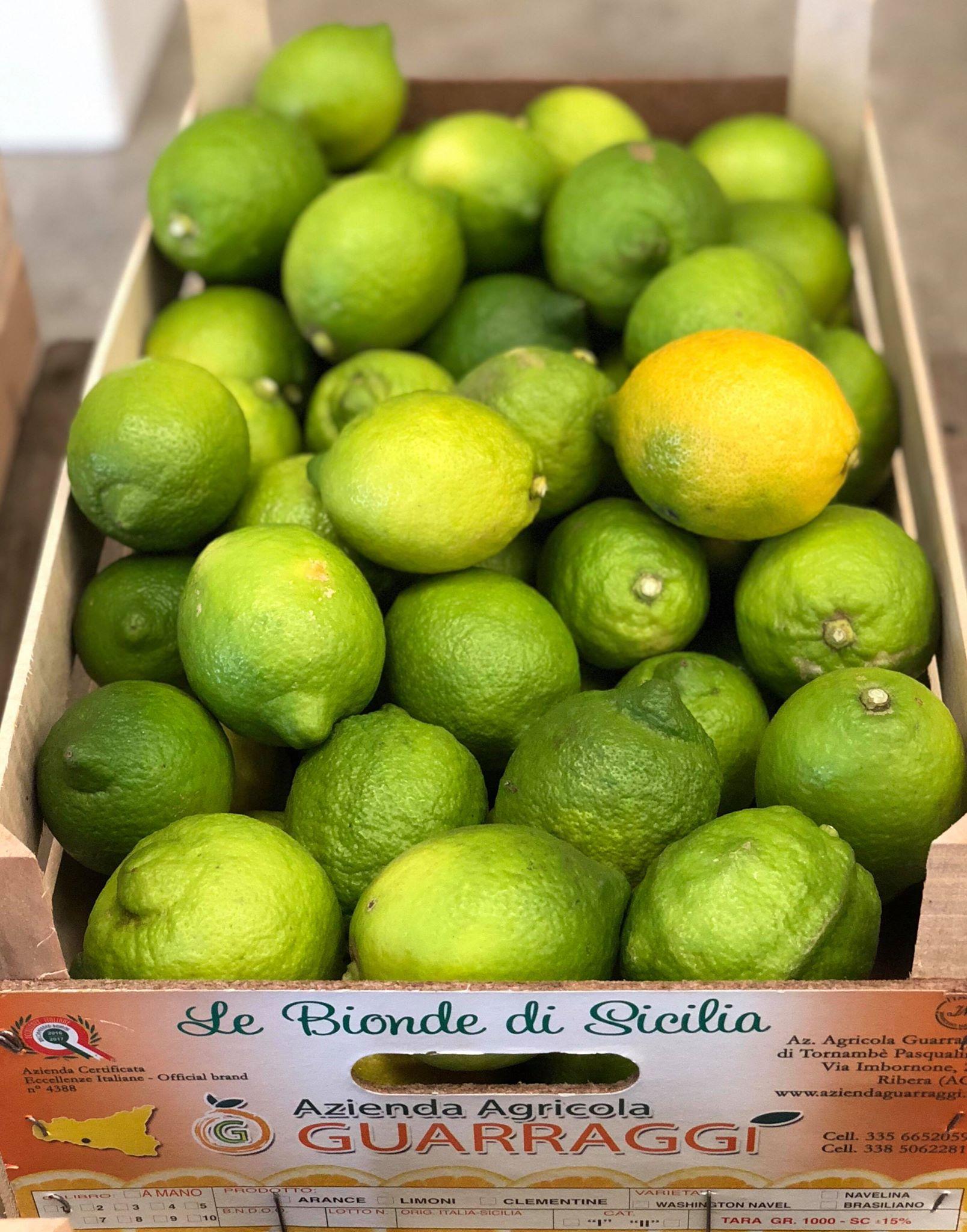 Citrons Siciliens Di Ribera