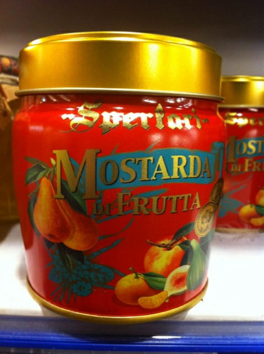 Confit de fruits � la Moutarde Sperlari