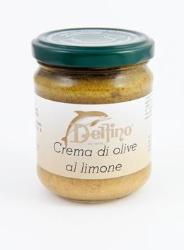 Cr�me d'olives au Citron - Delfino