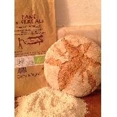 Pain Biologique avec la Farine  aux 5 C�reales Cuit � bois