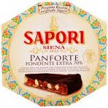 Sapori Siena Panforte Chocolat Noir Extra