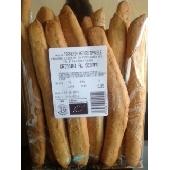 Gressins artisanals de blé tendre au sésame Bio gr. 500 - Boulangerie Astori
