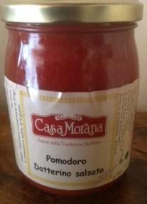 Tomate datterino  en sauce - Casa Morana