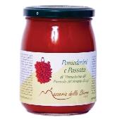 Passata di Pomodorino del - Piennolo del Vesuvio D.o.p. - Barattolo in vetro
