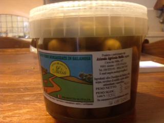 Olives vertes Nocellara del Belice en saumure - Az. Agricola Melia