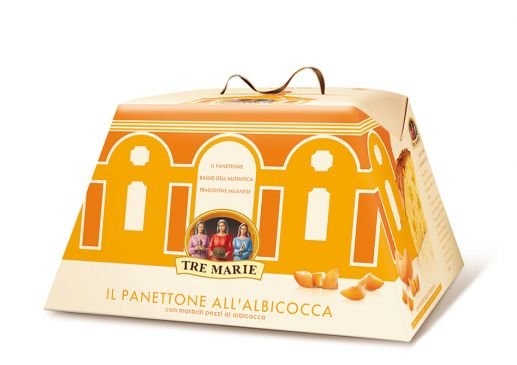 The Apricot Panettone - Tre Marie