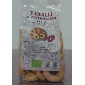 Tarallii  organiques avec Piment- Forno Astori