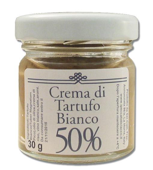 Cr�me de Truffe Blanche � 50% - I Peccati Di Ciacco