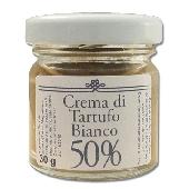 Crème de Truffe Blanche À 50% - I Peccati Di Ciacco
