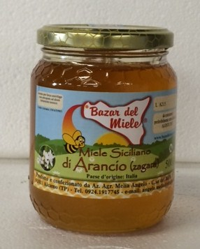 Miel d'Orange Sicilienne Biologique - Az. Agricola Melia