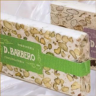Le nougat friabile aux pistaches - Torronificio Berbero
