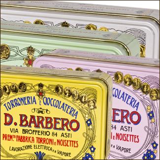 Torroncini m�lange boite metal  - Torronificio Barbero