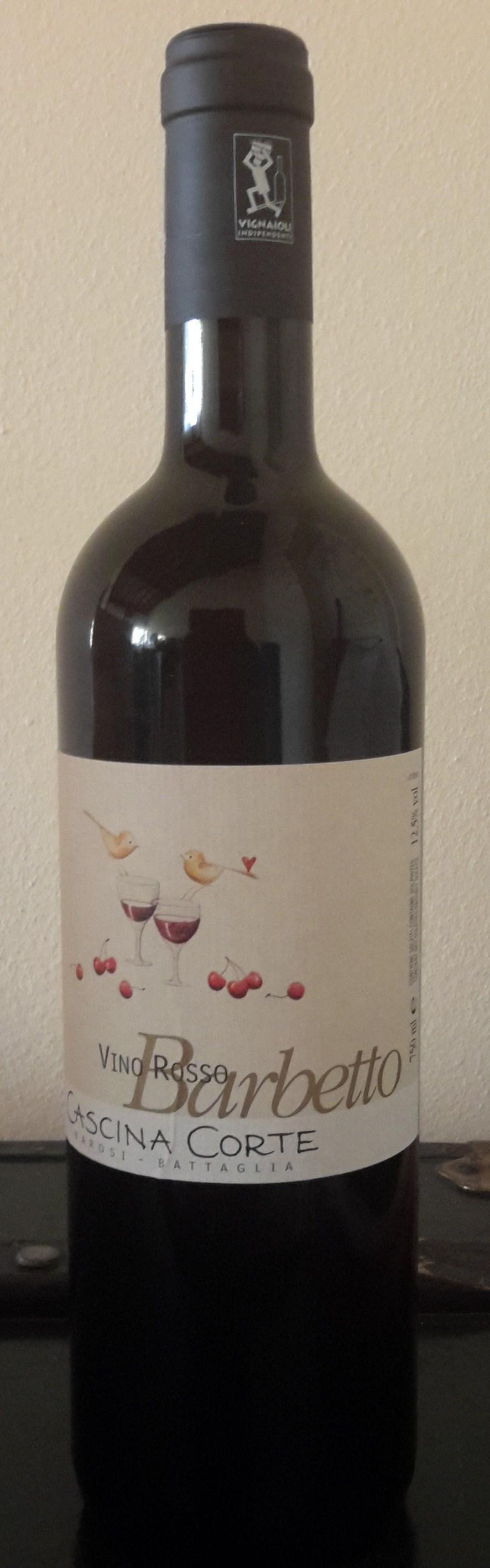 Barbetto Vin Rouge biologique 2013 - Cascina Corte