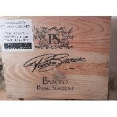 Barolo Poderi Scarrone - boite en bois  1999/2000/2001