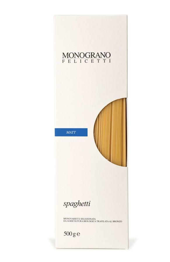 Spaghetti Monograno Bio - Pastificio Felicetti