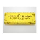 Go�t de citron chocolat de Modica, comprim� 100 gr - Donna Elvira