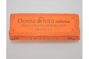 Saveur orange chocolat de Modica, 100 gr - Donna Elvira