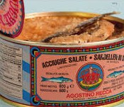 Anchois de sicile au sel - Agostino Recca