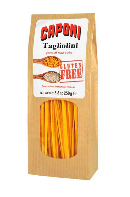 Tagliolini - Gluten Free Pasta - Pastificio Caponi