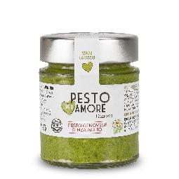 Pesto frais alla genovese sans l'ail avec parmigiano reggiano 30 mois