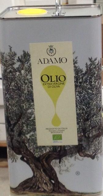 Huile d'olive extra vierge Bio - Adamo