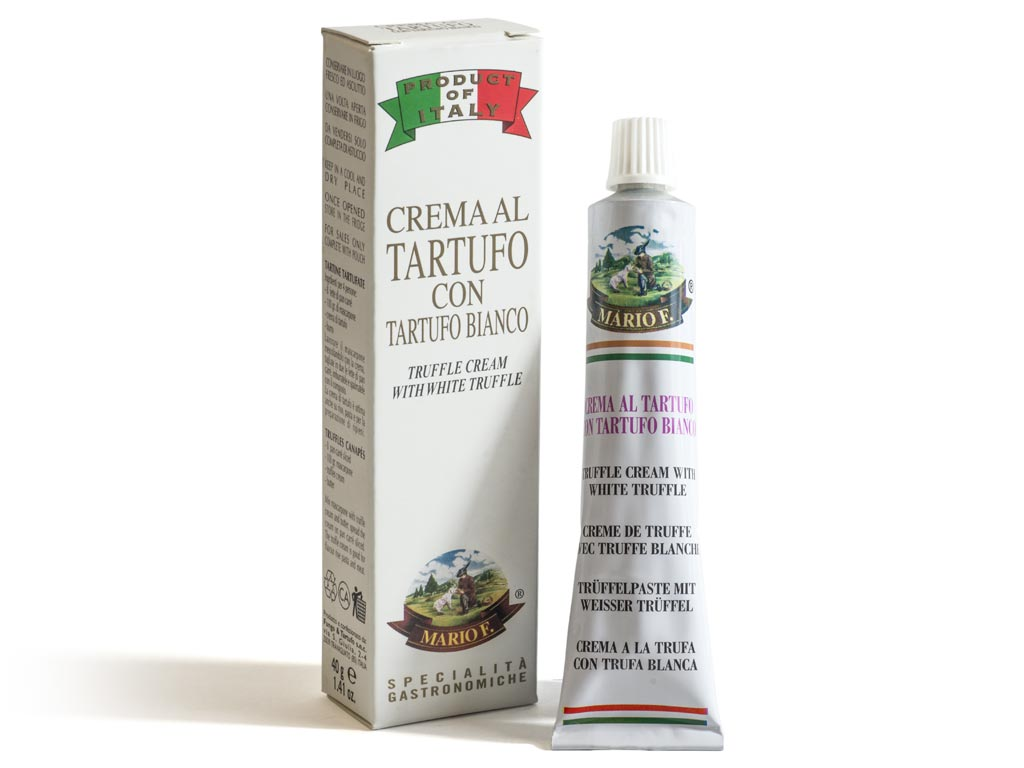Crema al Tartufo Bianco - Fungo e Tartufo Mario Ferrari