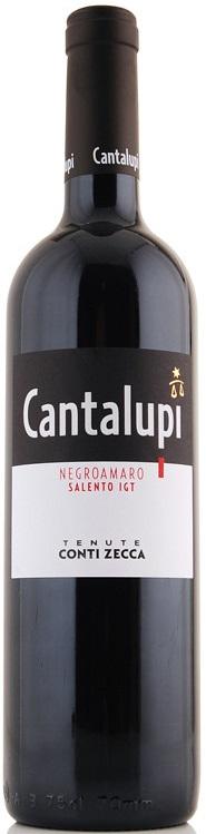 Negroamaro Salento I.G.P.  CANTALUPI   - CONTI ZECCA